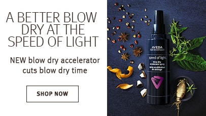 Click shop now button to shop speed of light blow dry accelerator