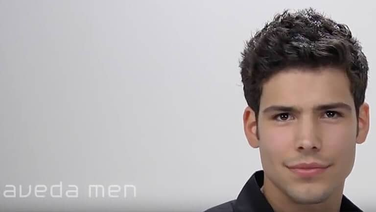 Aveda How To Create Men S Hairstyles For Short Haircuts