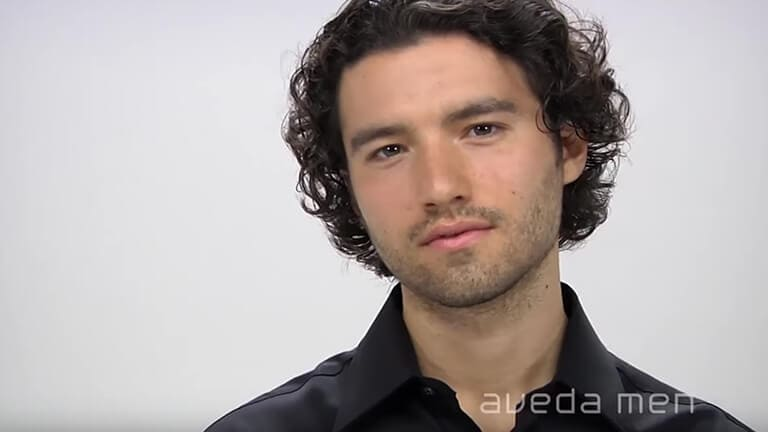 Aveda How To Long Hairstyles For Men With Curly Hair