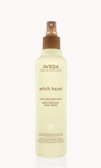 witch hazel hair spray